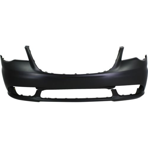 Perfect Fit Group REPC010385P – Town And Country Front Bumper Cover, Primed, W/O Headlamp Washer