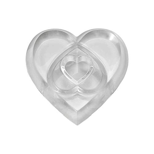 Baccarat Heart Of Love Clear Paperweight - Baccarat Heart