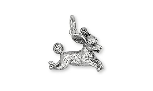 Esquivel and Fees Poodle Jewelry Sterling Silver Poodle Charm Handmade Dog Jewelry PD23-C