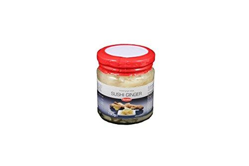 - Yutaka Sushi Ginger Jar - Pickled White Sushi Ginger 190g