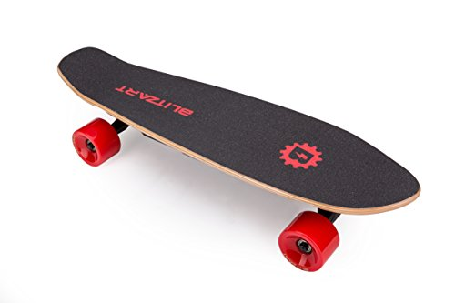 BLITZART Mini Flash 28\u0026quot; Electric Skateboard 12mph 8mile Range 250W HubMotor 2.8\u0026quot; Wheels  Buy