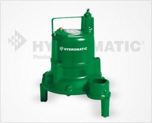 Hydromatic SHEF40M1 Cast Iron Effluent Pump, 20' Power Cord (Manual)