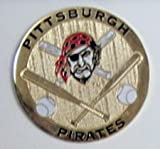 Pittsburgh Pirates Round Metal Magnet
