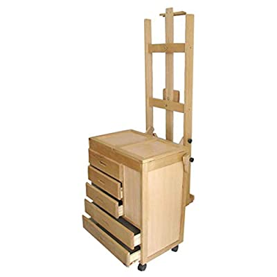 Easel Nationwel@ Import Beech Wood Painting Car, Chinese Painting Oil Painting, Horizontal and Vertical with Picture Frame Dual-Purpose