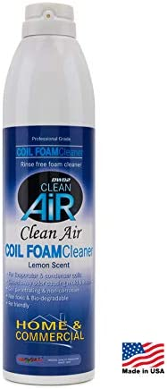 DWD2 Clean Air Coil Foam Cleaner Home & Commercial self rinsing (Lemon Scent)- Renew Your HVAC / DWD2 Clean Air Coil Foam Cleaner Home & Commercial self rinsing (Lemon Scent)- Renew Your HVAC