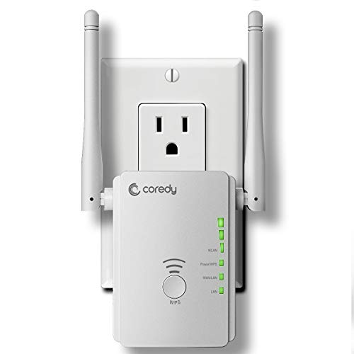 Coredy N300 Mini WiFi Range Extender All-New Upgraded Wirele