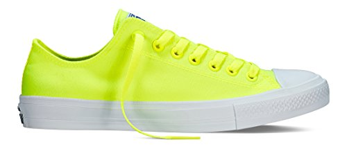 Converse White Ii Adults' Unisex Green Green Volt Star C150160 Low All Sneakers Chuck Top Taylor YYr6w