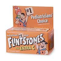Flintstones Children's Multivitamin Supplements Chewable Tablets 60 ea