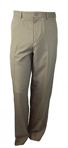 Perry Ellis Khaki (Perry Ellis Portfolio Easy Care Flat Front Pants Khaki)