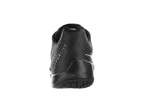 Nike Blck Plateado Gry Hombre Zapatillas drk Mtllc Gry Negro Baloncesto Slvr de Hyperlive cl rwHqSr