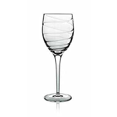 Luigi Bormioli Set of 4 Romantica All-Purpose Stemmed Wine Glasses, 13-Oz.