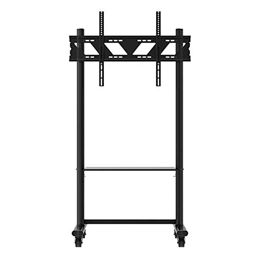 Bookcases NAN Liang Floor-Standing TV Stand Mobile Teaching Machine Advertising Machine Universal cart Suitable for 55 to 80 inches. Shelf (Bookcase Tv Lcd)