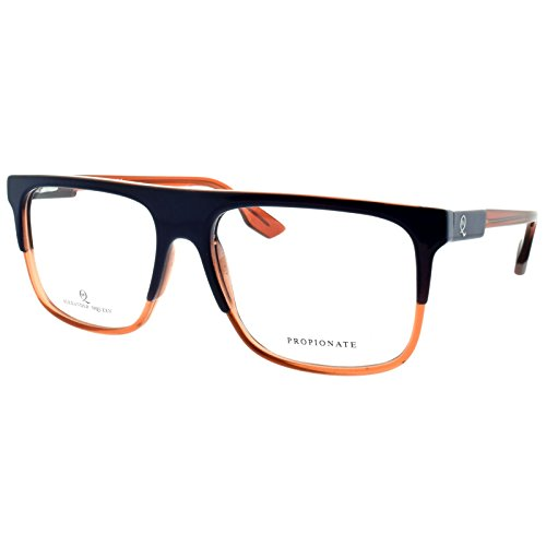Alexander McQueen MCQ 0051 G1S Blue Orange Rectangle - Alexander Frames Mcqueen