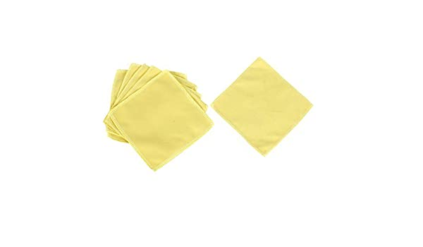 DealMux del parabrisas del coche de lavado de toallas amarillas Cleaner 6 piezas: Amazon.es: Coche y moto