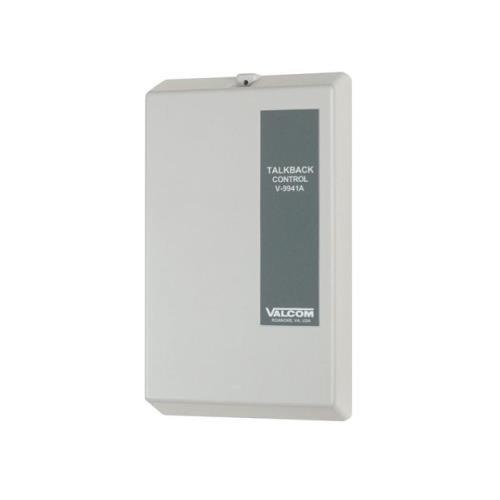 [해외]VALCOM VC-V-9941A Valcom 원 - 존 토크백 컨트롤 유닛 - NEW - 화이트 박스 - VC-V-9941A/VALCOM VC-V-9941A Valcom One-Zone Talkback Control Unit - NEW - White Box - VC-V-9941A