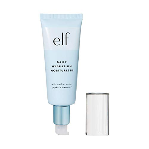 Elf Make Up (e.l.f. Cosmetics Daily Hydration Moisturizer, Nourishing Lotion for Soft and Supple Skin, 2.5 Fluid)