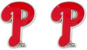 MLB Philadelphia Phillies Team Logo Post Earrings