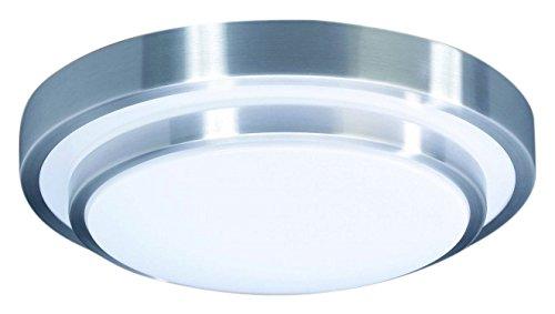 Massive lora 2gx13 22w cromo bianco illuminazione da soffitto