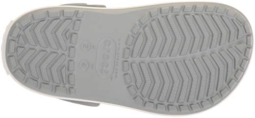 Damen Hellgrau Crocband Rosa crocs 205434 Platform Clogs Light Rose Grey T4Anntwq6