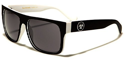 BIOHAZARD hombre clásico Moda Gafas Sol De Diseñador ideal para deportes o Conducción COMPLETO UV400 Protección GRATIS VIBRANT Cabaña Bolsa INCLUIDO