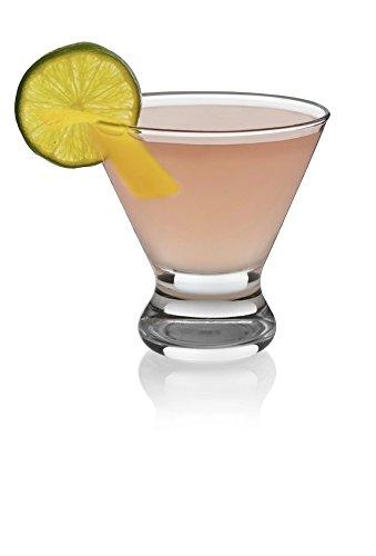 Libbey Cosmopolitan 4-piece Glass (Easy 7 Layer Dip Recipe)
