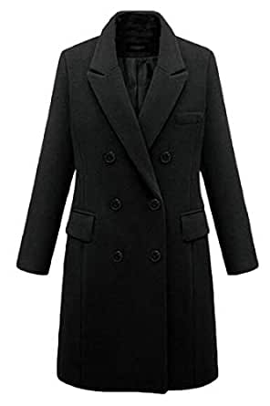 Amazon.com: MMCP Women Winter Plus Size Double Breasted