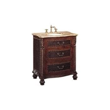 This item Bathroom Vanity 32 Inch with Top and Sink  32 Inch Single Sink Bathroom  Vanity Cabinet with Brown Marble Top and Antique Brown Finish  32 Inch  Bathroom Vanity 32 Inch with Top and Sink  32 Inch Single Sink  . 32 Inch Bathroom Vanity. Home Design Ideas