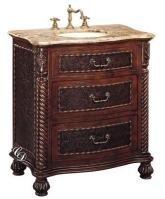 Bathroom Vanity 32 Inch With Top And Sink: 32 Inch Single Sink Bathroom Vanity  Cabinet