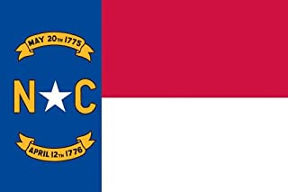 product image for Valley Forge Flag Made in America 3' x 5' Nylon North Carolina State Flag