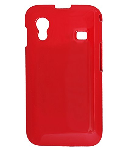 iCandy™ Colourful Glossy Hard Back Cover for Samsung Galaxy Ace S5830   RED