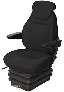 Basic Star - Asiendo para cabina de tracto de tela, color negro