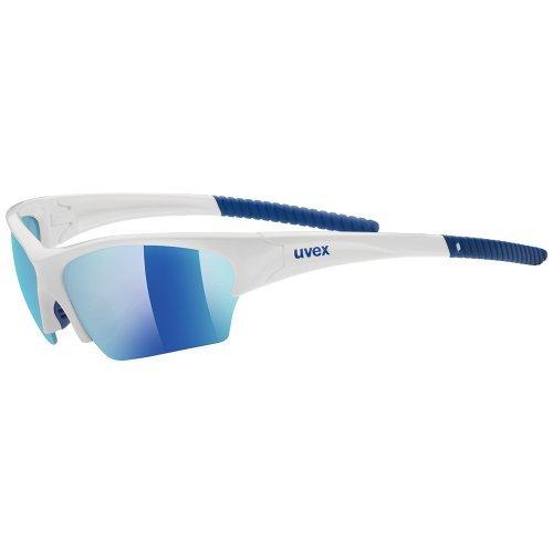 Uvex Sunsation Sunglasses - White/Blue by - Sunsation Sunglass