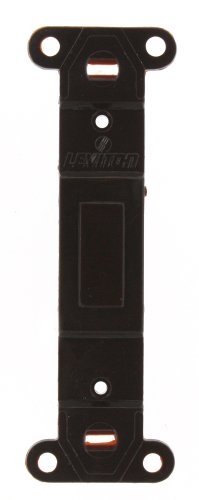 Leviton 80700 Toggle Plastic adapter plate, Blank Toggle No Hole, Brown