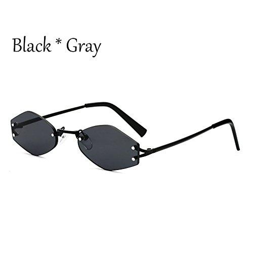 Gafas De Uv354 Black Cuadrado Negra Tonos Pequeño G C1 Reborde Gafas C1 TIANLIANG04 Moda Sol Lente Lens Señoras SXwqpxnFtf