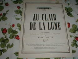 Au Clair de La Lune, Ten Variations for 2 Treble-clef Instruments, Harry Dexter (Au Clair De La Lune Sheet Music)