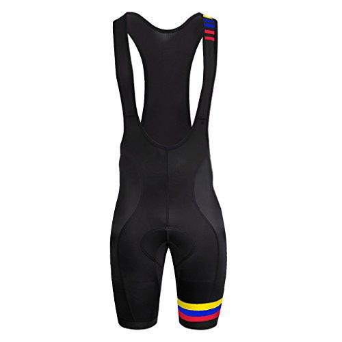 Uglyfrog Designs Mens Pro Cycling Bib Shorts 3D Gel Padded Cycling Pants Sublimation Cycling - Equipe Bib Short Cycling