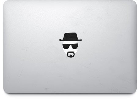 Heisenberg Breaking Bad-apple Macbook Ipad Laptop Vinyl Decal Sticker Skin Cover (Newest Version)