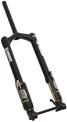 SN フロントサスペンションフォーク26インチファットバイクDNM USD-6-Fatエアサスペンションディスクブレーキブラック (Size : 26inch)