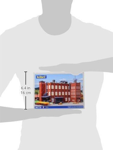 36770 Factory Buildings Z Scale Model