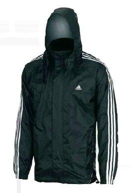 Adidas Rain Jacket, Lluvia Chaqueta, Lluvia, Hombre Mujer, Color, tamaño XS: Amazon.es: Deportes y aire libre