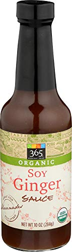 365 Everyday Value, Organic Soy Ginger Sauce, 10 oz
