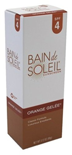 Bain De Soleil Spf#4 Orange Gelee 3.12 Ounce (92.3ml) (6 Pack)