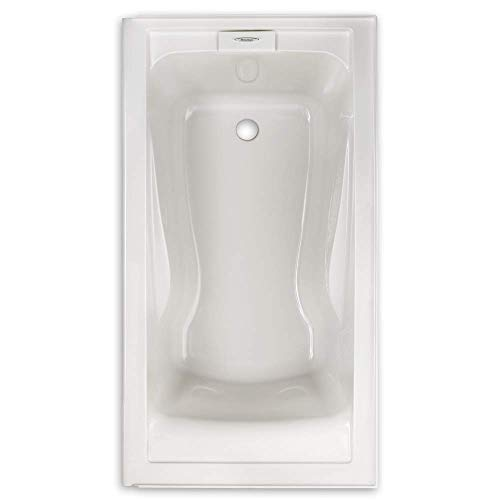 American Standard 2422V002.020 Evolution Bathtub with Dual Molded-In Arm Rests, Undermount Option, White