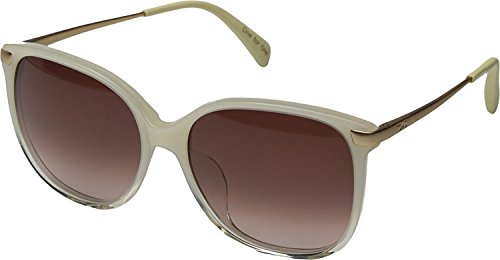 TOMS Women's Sandela 201 Pearl Clear Fade Sunglasses by TOMS