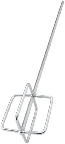 Mixing Paddle, 22 In. L, Chrome Plated