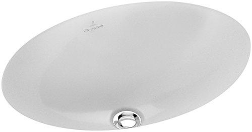 - Undercounter washbasin, 22'' x 14 3/4'', oval