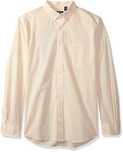 IZOD Mens Premium Performance Natural Stretch Check Long Sleeve Shirt (Big & Tall and Tall Slim)