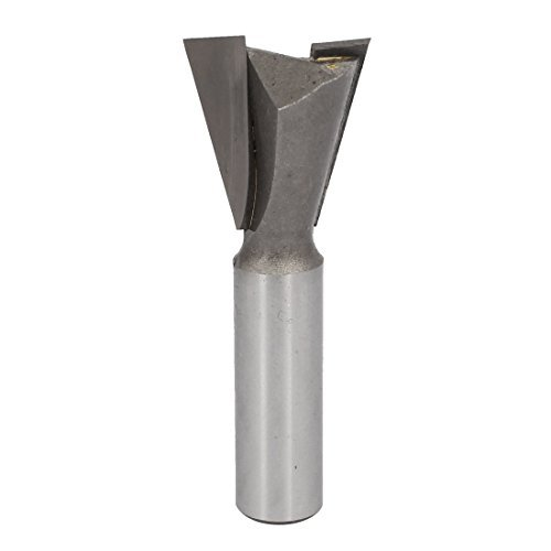 DealMux 1/2-inch Shank 1-1/8-inch Cutting Dia 2 Blades Chamfer Dovetail Router Bit