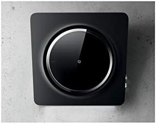 Elica PRF0120964 - Campana (757 m³/h, Recirculación, 54 dB, De pared, Negro, Vidrio): Amazon.es: Hogar