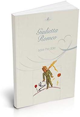 Libro de Recuerdos Personalizable El Principito, para Boda, Paquete de 10 Unidades: Antoine de Saint-Exupéry: Amazon.es: Hogar